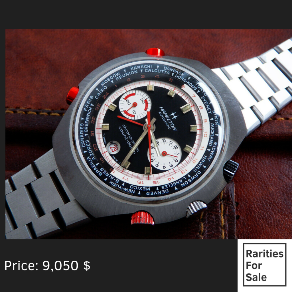 Hamilton Chrono Matic Count Down On Ebay Rarities For Sale